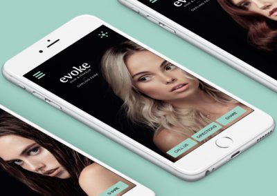 Evoke Hair & Makeup –   Creating a high end customer experience 24/7
