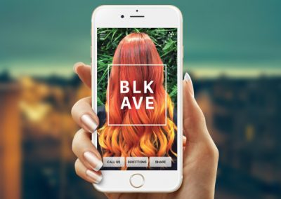 Black Avenue Hairdressing – Mobile bookings for customer loyalty and repeat business