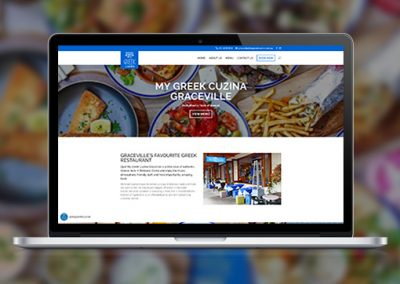 My Greek Cuzina – Multi location website